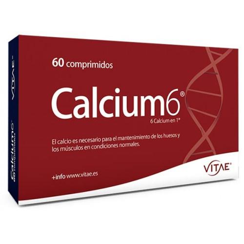 CALCIUM6 (CALCIO 200 MG + D3) 60 COMP VITAE