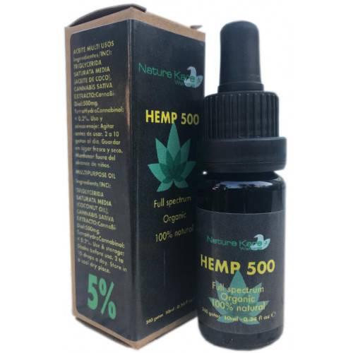 HEMP 500 CBD 5% 10 ML NATURE KARE WELLNESS