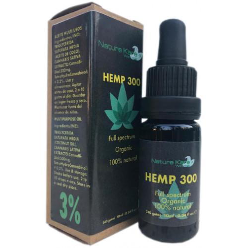 HEMP 300 CBD 3% 10 ML NATURE KARE WELLNESS