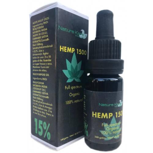 HEMP 1500 CBD 15% 10 ML NATURE KARE WELLNESS