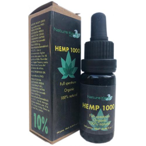HEMP 1000 CBD 10% 10 ML NATURE KARE WELLNESS