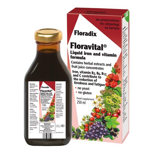 FLORAVITAL FLORADIX VEGAN 250 ML SALUS