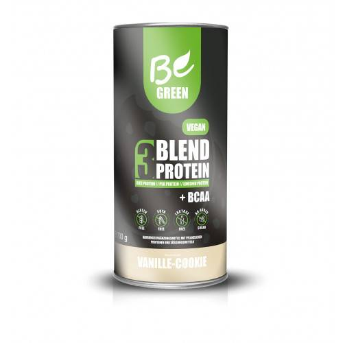 3 BLEND PROTEIN VAINILLA COOKIE 700 G BE GREEN