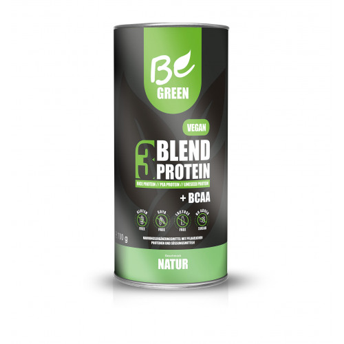 3 BLEND PROTEIN NATURAL 700 G BE GREEN