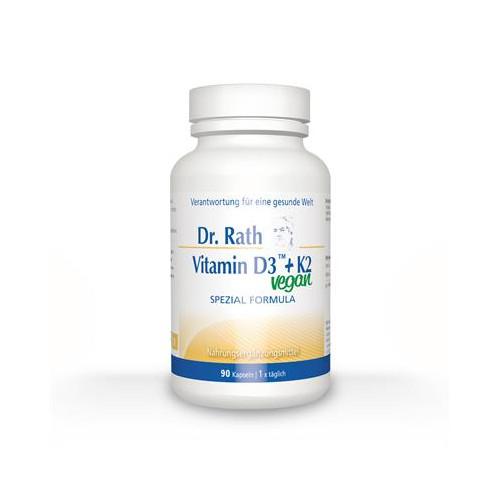 VITAMINA D3 K2 90 CAP DR. RATH