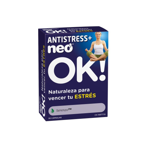 ANTISTRESS PLUS 30 CAPS NEO NEOVITAL