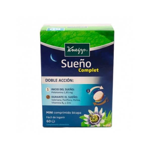 KNEIPP SUEÑO COMPLET 60 COMP MINI