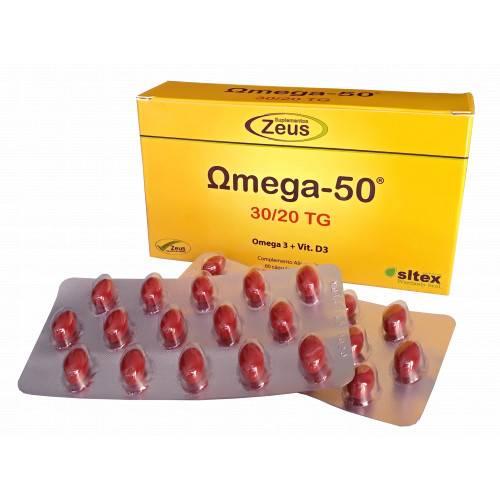 OMEGA 50 30/20 TG 120 CAP ZEUS