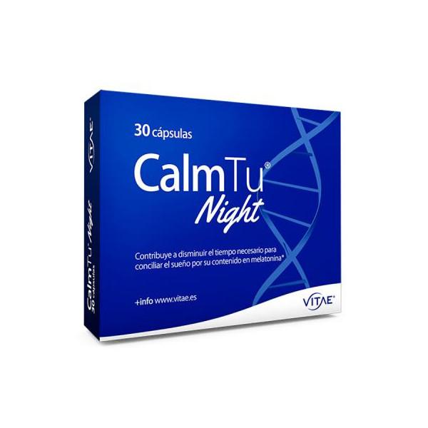 CALMTU NIGHT 30 CAPS VITAE