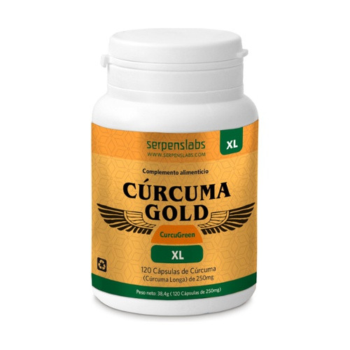 CURCUMA GOLD XL 120 CAPS SERPENSLABS