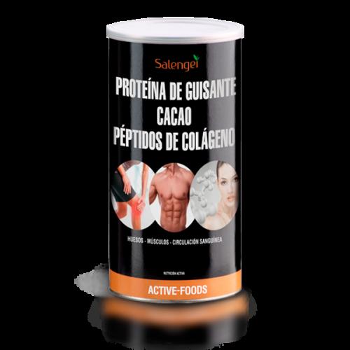 PROTEINA VEGETAL COLAGENO CACAO 500 GR SALENGEI