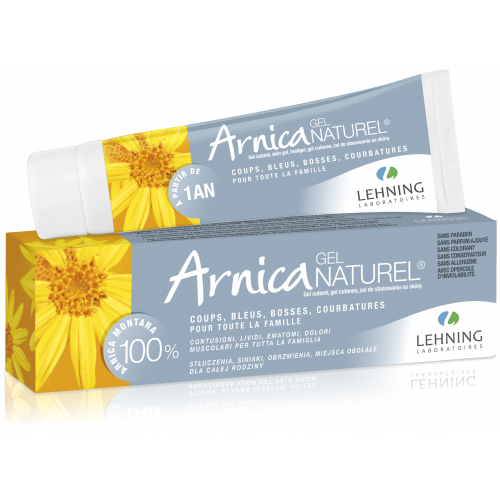 ARNICA NATUREL GEL 50GR LEHNING