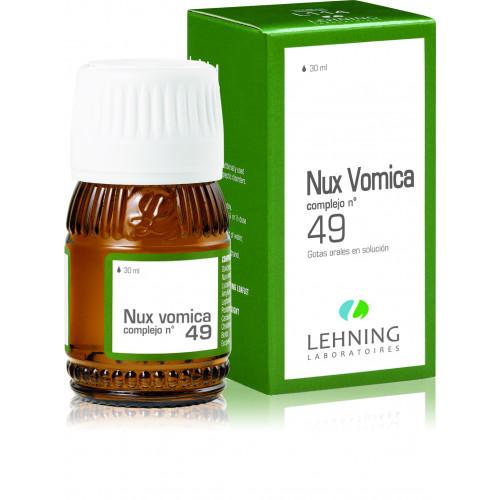 NUX VOMICA N-49 GOTAS 30 CC LEHNING