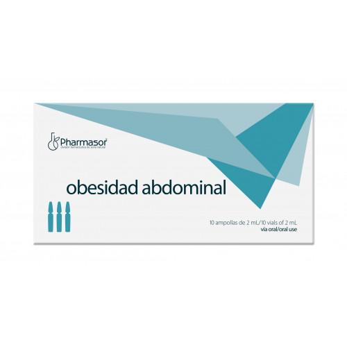 OBESIDAD ABDOMINAL 10 AMP HOMEOSOR PHARMASOR