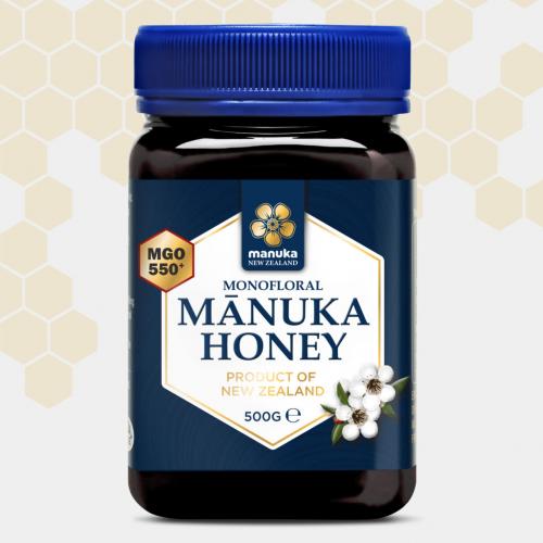MANUKA HONEY MGO 550+ 500 GRS MANUKA HEALTH