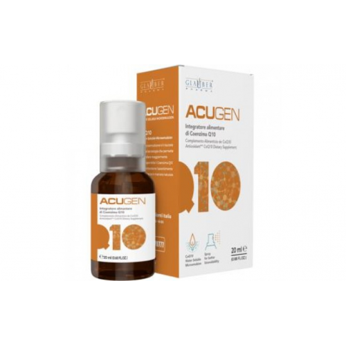 ACUGEN COENZIMA Q10 20ML SPRAY GLAUBER PHARMA