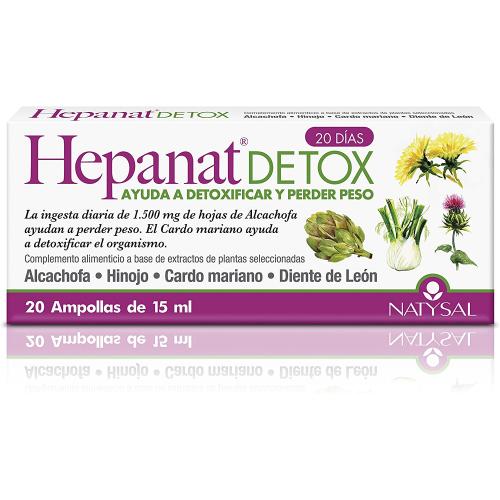 HEPANAT DETOX 20 AMP NATYSAL