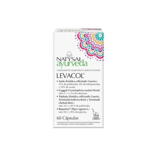 LEVACOL AYURVEDA 60 CAP NATYSAL