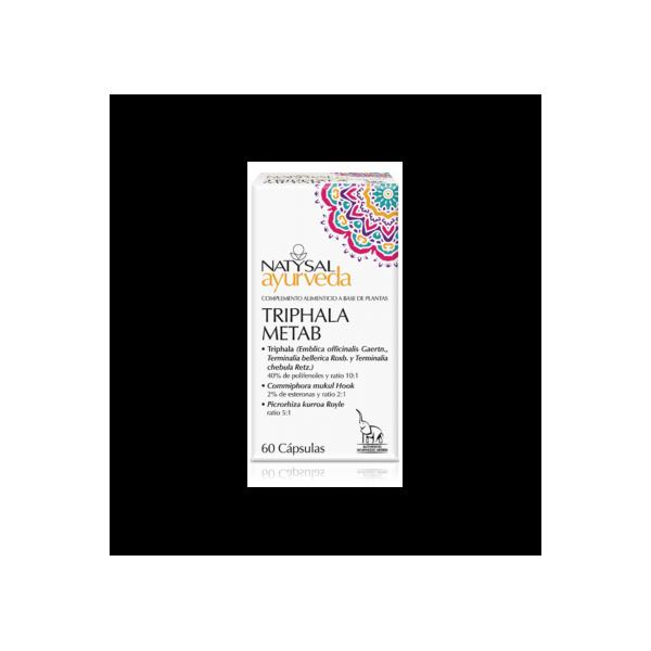 TRIPHALA METAB AYURVEDA 60 CAP NATYSAL