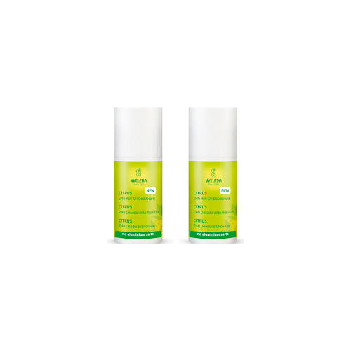 WELEDA PACK DUPLO DESODORANTE ROLL ON CITRUS 50 ML