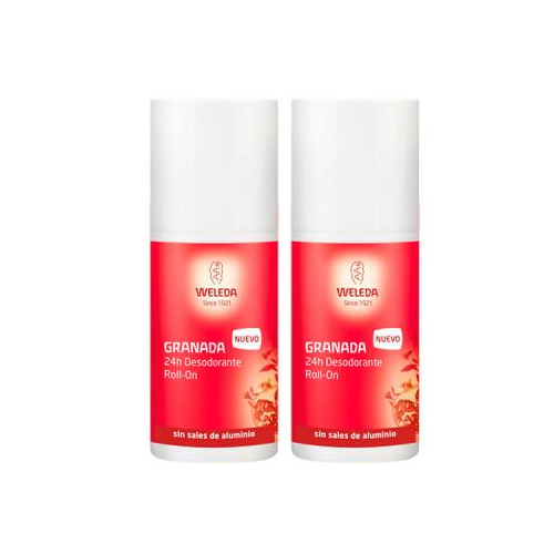 WELEDA PACK DUPLO DESODORANTE ROLL ON GRANADA 50 ML