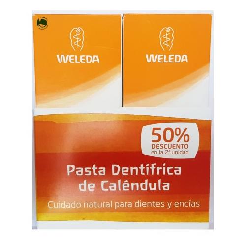WELEDA PACK PASTA DENTIFRICA CALENDULA 75 ML