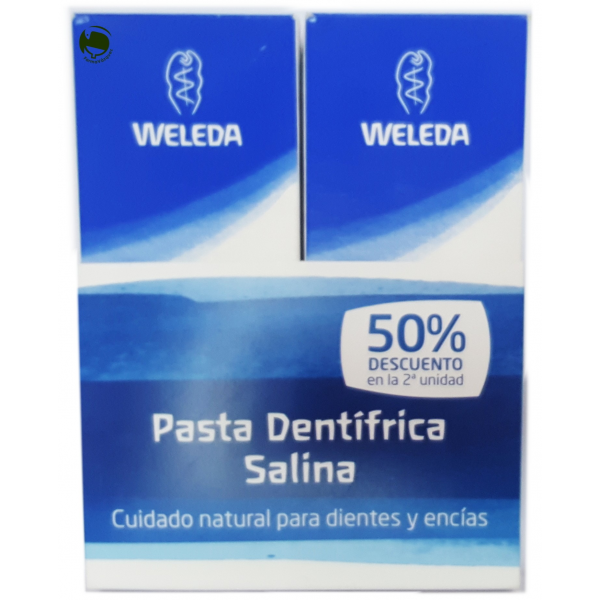 WELEDA PACK PASTA DENTIFRICA SALINA 75 ML