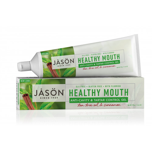 DENTIFRICO HEALTHY MOUTH 125 G JASON