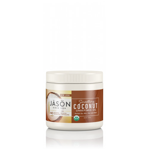 ACETIE COCO VIRGEN ECOLOGICO SMOOTHING COCONUT OIL 443 CC JASON