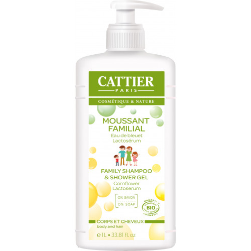 GEL BAÑO FAMILIAR (MOUSSANT FAMILIAL) 1 LITRO BIO CATTIER