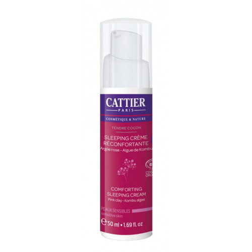 CATTIER CREMA NOCHE RECONFORTANTE SLEEPING CREAM PIELES SENSIBLES 50 CC