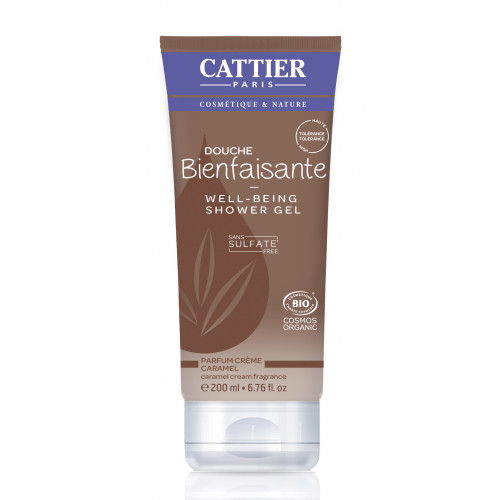 CATTIER GEL DUCHA SIN SULFATOS WELL BEING CARAMELO 200 CC