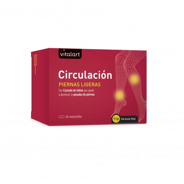 CIRCULACION PIERNAS LIGERAS  60 COMP VITALART