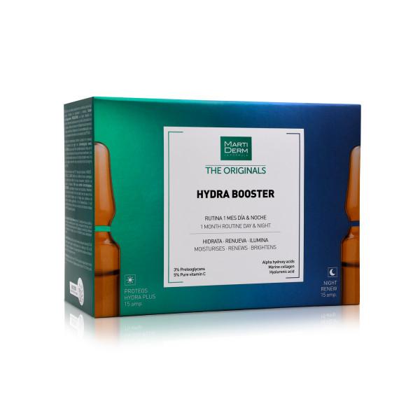 HYDRA BOOSTER 15 AMP HYDRA PLUS + 15 AMP NIGHT RENEW MARTIDERM