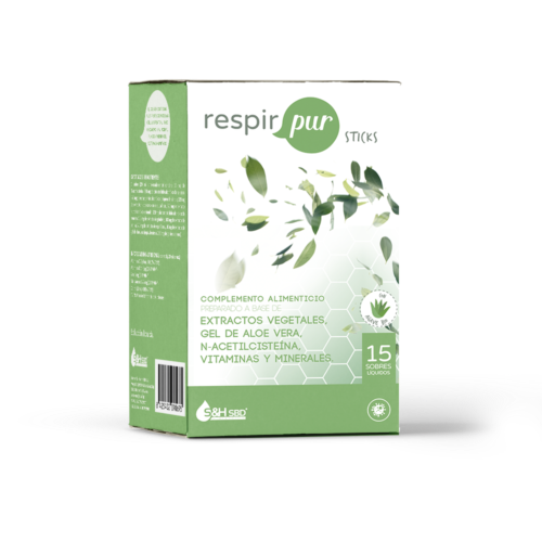 RESPIRPUR 15 STICKS SCIENCE AND HEALTH S&H