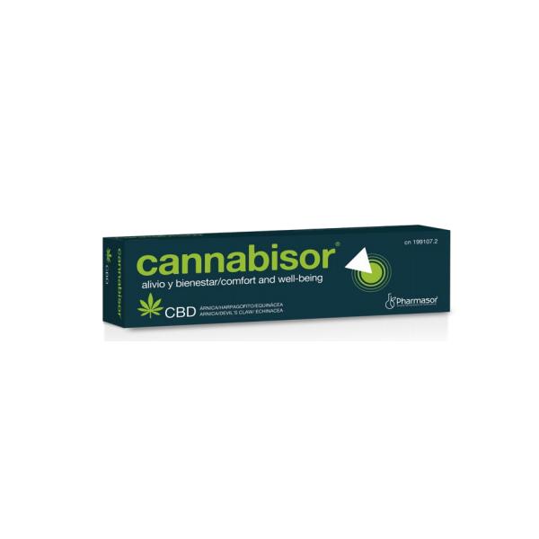 CANNABISOR (CANNABIS ARNICA HARPAGOFITO) CREMA 60 CC PHARMASOR