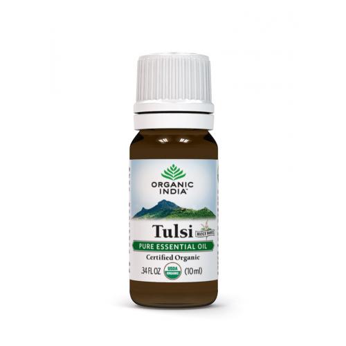 TULSI ACEITE ESENCIAL BIO 10 ML ORGANIC INDIA