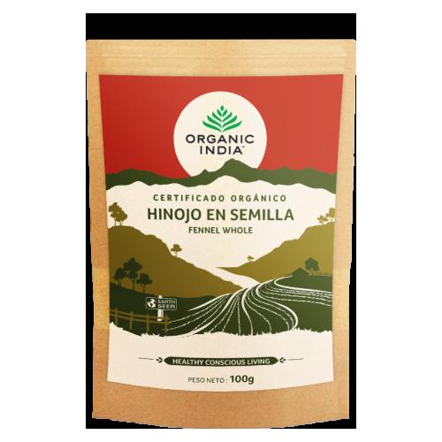 HINOJO EN SEMILLA BIO 100 GR ORGANIC INDIA