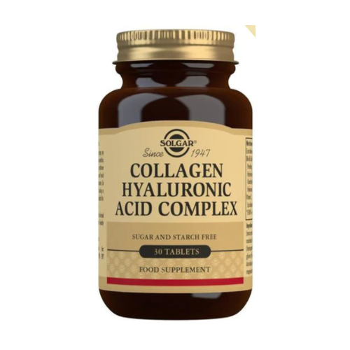 COLLAGEN HIALURONIC ACID COMPLEX (COLLAGEN) 120 MG 30 COMP SOLGAR