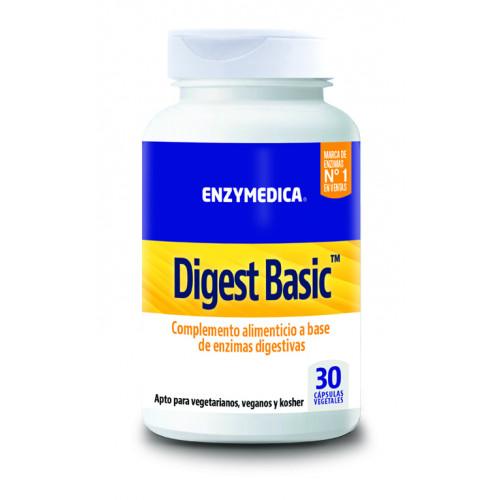 DIGEST BASIC 30 CAPS VEGETALES ENZYMEDICA (NUTRINAT)