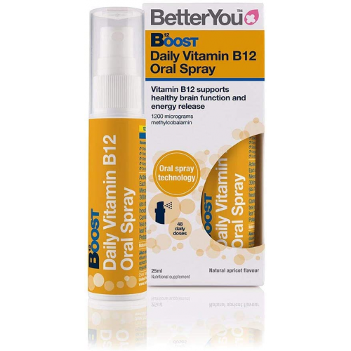 BOOST B12 SPRAY ORAL 25 ML BETTER YOU