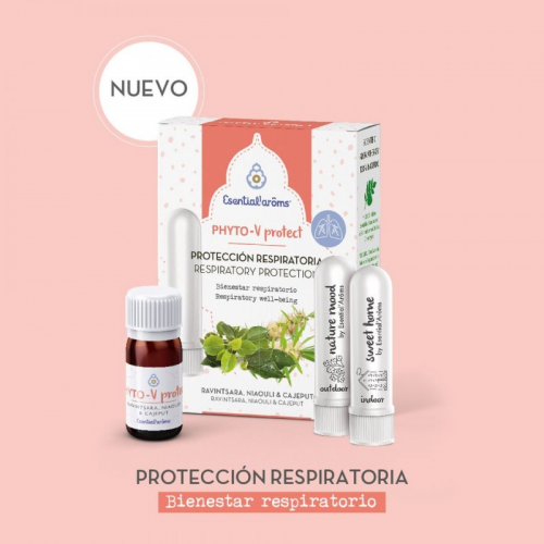 PHYTO V PROTECT 5ML +2 INHALADOR NASAL ESENTIAL AROMS INTERSA