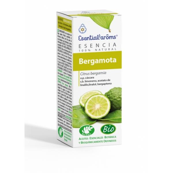 ACEITE ESENCIAL DE BERGAMOTA CASCARA 10 ML (CITRUS BERGAMIA) ESENTIAL AROMS INTERSA