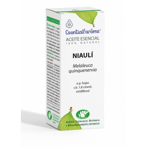 ACEITE ESENCIAL DE NIAOULI 10 ML (MELALEUCA QUINQUENERVIA HOJAS) ESENTIAL AROMS INTERSA