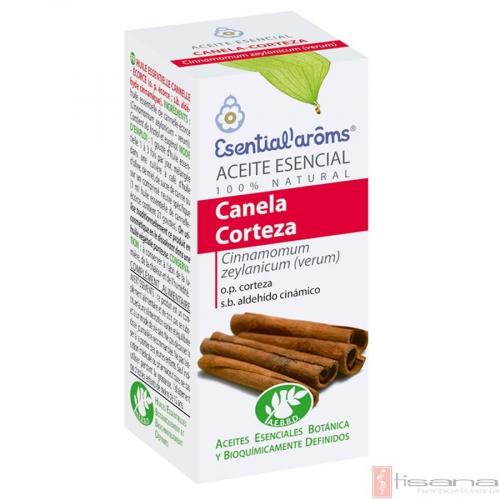 ACEITE ESENCIAL DE CANELA CORTEZA 5 ML (CINNAMOMUM ZEYLANICUM) ESENTIAL AROMS INTERSA