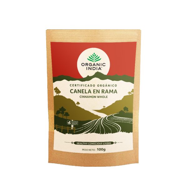 CANELA EN RAMA BIO 100 GR ORGANIC INDIA