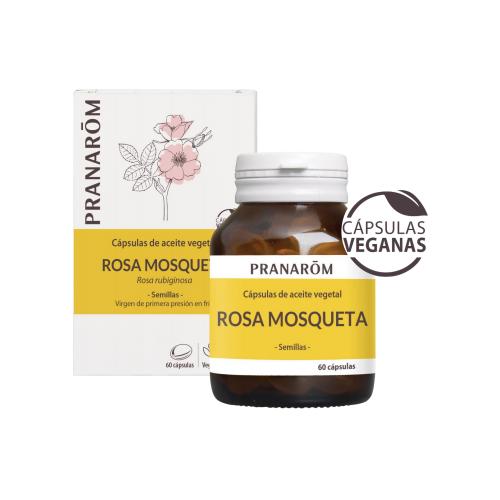 ROSA MOSQUETA ACEITE VEGETAL 750 MG 60 CAP VEG BIO PRANAROM