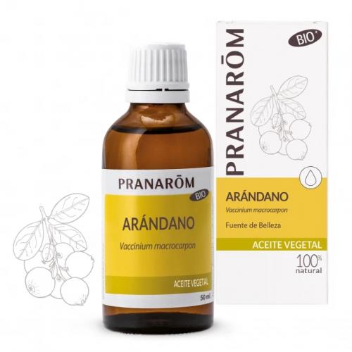 ARANDANO ACEITE VEGETAL BIO (VACCINIUM MACROCARPON) 50 CC PRANAROM