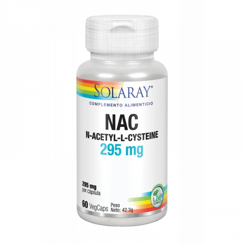 NAC 295MG 60 CAPSULAS SOLARAY