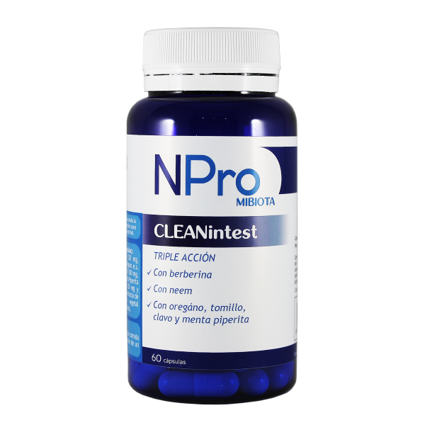 NPRO CLEANTINTEST 60 CAP NATURAL PROBIOTICS
